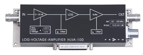 hlva-100对数的带宽电压放大器,进口对数的带宽电压